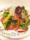 契約農家直送、新鮮野菜サラダ