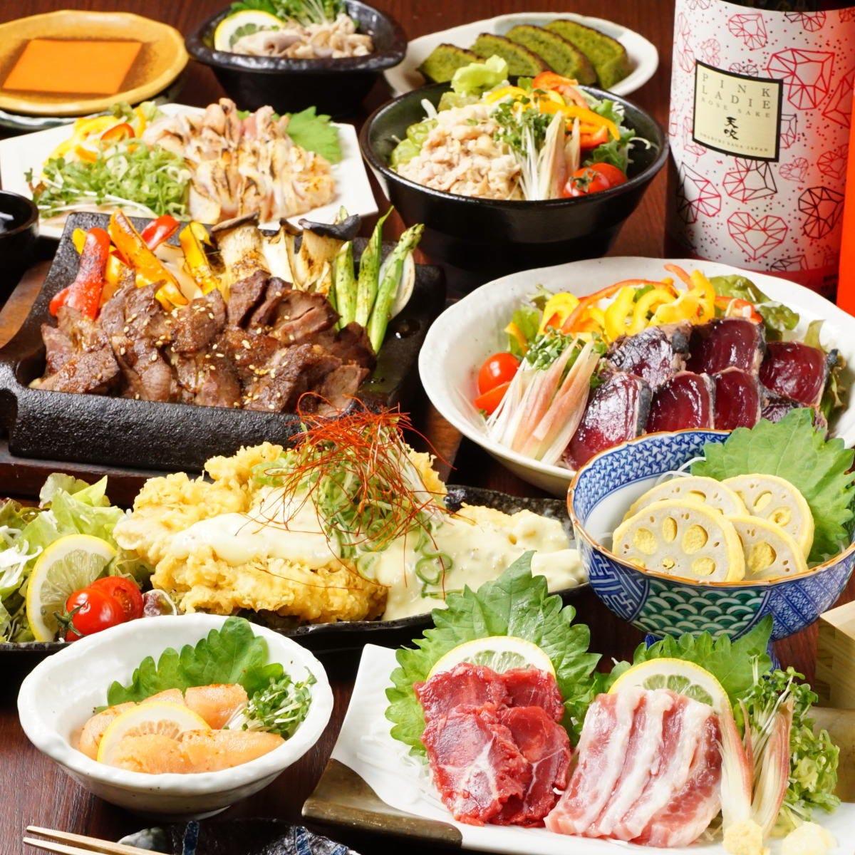 ☆ドリンクと共に豊富な165種類のお料理☆