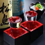 全国の蔵元から厳選の日本酒は4種類