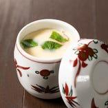 だしの旨みがしっかり味わえる茶碗蒸し