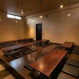10名様以上の宴会は座敷席がおすすめ!最大40名様までスペース貸切も承ります
