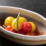 プチトマトの梅マリネ