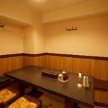 2階/少人数宴会におすすめな落ち着く半個室(4〜7名様まで)
