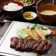がっつりお昼♪本格ステーキ
