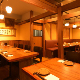 【大人数のお客様向け】テーブル個室(20~25名様)