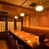 【中人数のお客様向け】テーブル個室(8~10名様)