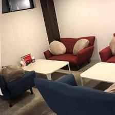 寛ぎのソファー席半個室がおすすめ!