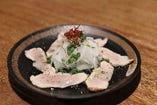 知覧鶏のたたきカルパッチョ