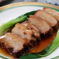 豚肉のやわらか醤油煮込み