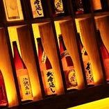 熊本を中心とした日本酒や焼酎も取り揃えております。