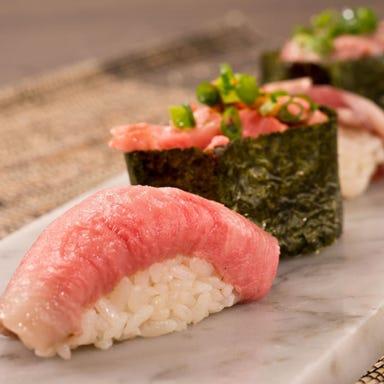 神楽坂肉寿司  コースの画像