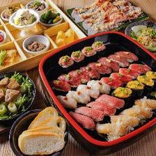 肉×寿司×女子会