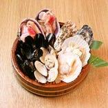 貝の盛り合わせ