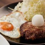 人気のあぐーハンバーグ定食900円(税抜)