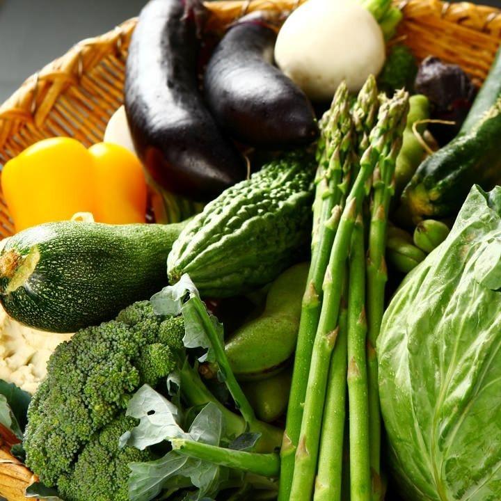 旬の旨みをお届け♪新鮮野菜!