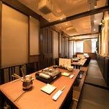 【4階】テーブル席個室(2~18名様)