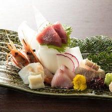 北海道 鮮魚の5点盛り