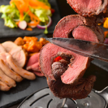 牛赤身肉のシュラスコ