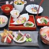 季節の特別会席コース 「桜花(おうか)」