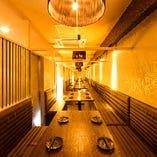 ■□個室×厳選食材のお店 美味門‐うまいもん‐品川店  -和風個室- □■