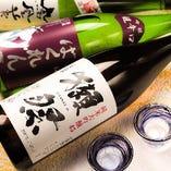 コースに+1500円で日本酒飲み放題飲み放題に変更可能!!