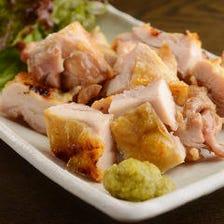 大山鶏(鳥取) もも炙り塩焼き