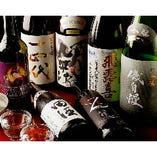十四代、田酒、飛露喜などの銘酒をリーズナブルに楽しめます