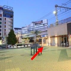 ③広場の右手にある京成上野駅方面への路地を進みます。