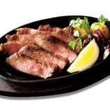 飛騨牛リブロース肉の石窯焼き