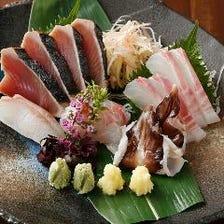五島列島などの直送魚使用季節のお品