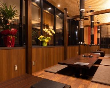 全席完全個室 炭火極味焼肉 英(ハナフサ) 三条店 メニューの画像