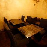 テーブル席(~8名様)