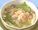 金目鯛のタタキ蒸し碗