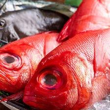 幻の地魚『日戻り地金目鯛』をご賞味