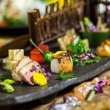 【産直食材】新鮮な地鶏や鮮魚を使用のアラカルト一品
