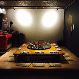 【虎】完全個室で本格四川料理を!円卓掘りごたつ席
