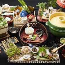 日本米の美味しさを味わえるコース