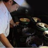 米炊き職人による究極の銀シャリが楽しまめる