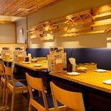木のぬくもりを感じられる和の空間でランチやディナーはいかが?