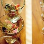当会場のお料理はその日新鮮な食材を使用しております。