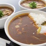 ●蕎麦屋の和カレーそば ●鶏南蛮カレーライス(ミニ蕎麦セット)
