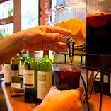 飲み放題は「ガブ飲みワイン」が好評!おすすめワイン数種とサングリア、ハイボールが飲み放題