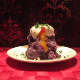 紫じゃがいものポテトサラダ