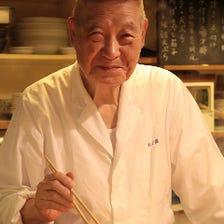 小倉良行氏、銀座で30年おでん一筋。