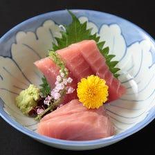 刺身から焼き物等、和の一品料理