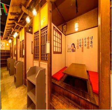 カルビ丼とサムギョプサルの美味しい店 ぶた韓 朝日店 店内の画像