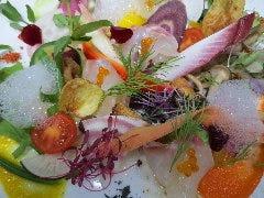 旨野菜と鮮魚のオードヴルサラダ