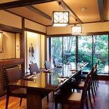 庭付きテーブル席個室(6~10名様)
