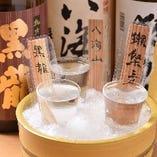 【日本酒】 飲み比べも◎広島をはじめ全国の地酒をご堪能