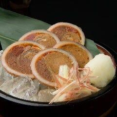 【自家製の味】真イカの沖漬けルイベ